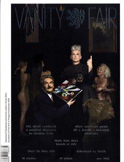 Obálka titulu Vanity Fair. Diplomanti AVU v Praze 2016