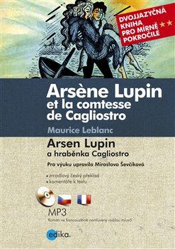 Obálka titulu Arsen Lupin a hraběnka Cagliostro