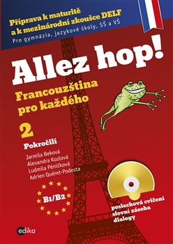 Obálka titulu Allez hop2! Francouzština pro každého - pokročilí