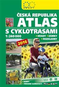 Atlas ČR s cyklotrasami 2016