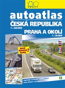 Obálka titulu Autoatlas Česká republika + Praha a okolí /2017/
