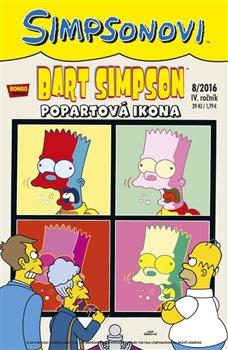 Obálka titulu Bart Simpson 8/2016: Popartová ikona
