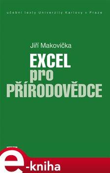 Obálka titulu Excel pro přírodovědce