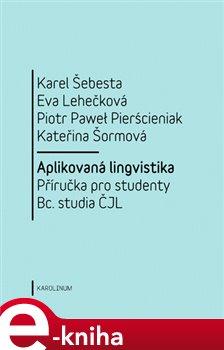 Obálka titulu Aplikovaná lingvistika