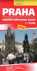 Praha 2016. Největší zobrazené území
