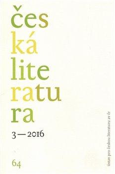 Obálka titulu Česká literatura 3/2016