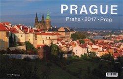 Kalendář Prague 2017 - stolní
