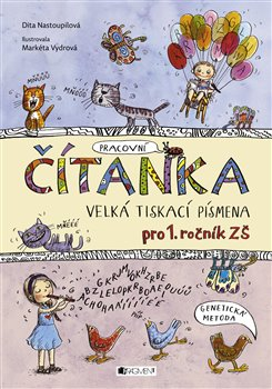Obálka titulu Čítanka - velká tiskací písmena