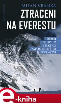 Obálka titulu Ztraceni na Everestu