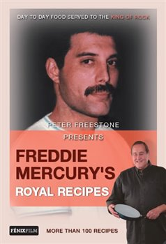 Obálka titulu Freddie Mercury's Royal Recipes