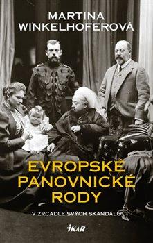 Obálka titulu Evropské panovnické rody