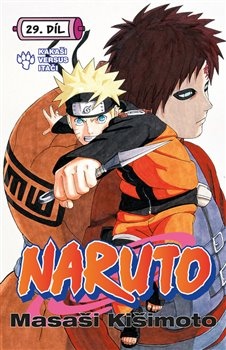 Obálka titulu Naruto 29: Kakaši versus Itači