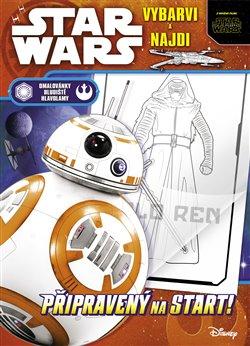 Obálka titulu Star Wars – vybarvi a najdi