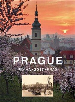 Kalendář Prague 2017 - nástěnný