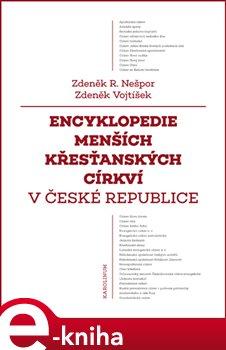 Obálka titulu Encyklopedie menších křesťanských církví v České republice
