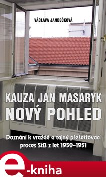 Obálka titulu Kauza Jan Masaryk (nový pohled)