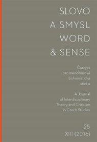 Slovo a smysl 25 / Word & Sense 25