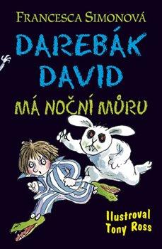 Obálka titulu Darebák David má noční můru
