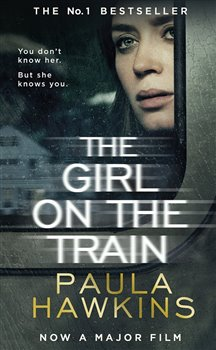 Obálka titulu The Girl on the Train film tie-in