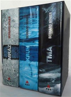 Obálka titulu 3 x Bernard Minier - box Mráz, Kruh, Tma