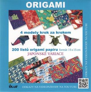 Origami – Japonské variace:4 modely krok za krokem - Vanda Battaglia,   Booksquad.ink