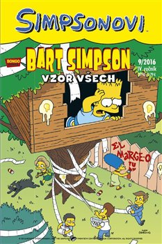 Obálka titulu Bart Simpson 9/2016: Vzor všech