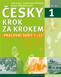 Obálka titulu Česky krok za krokem 1/ Pracovní sešit 1-12