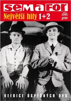 Semafor - největší hity 1+2. Reedice úspěšných DVD - Jiří Suchý, Jiří Šlitr