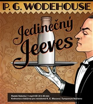 Jedinečný Jeeves - Pelham Grenvill Wodehouse | Booksquad.ink
