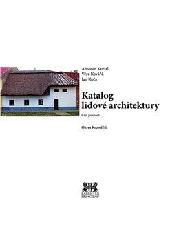 Obálka titulu Katalog lidové architektury 11 - okres Kroměříž
