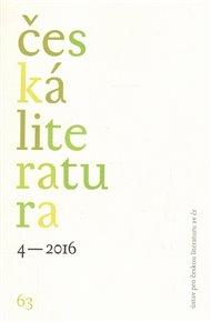 Česká literatura 4/2016