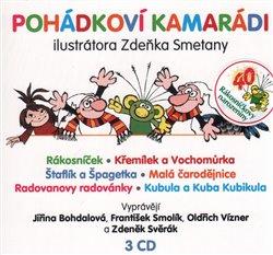 Obálka titulu Pohádkoví kamarádi ilustrátora Zdeňka Smetany