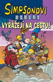 Obálka titulu Simpsonovi vyrážejí na cestu
