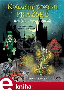 Obálka titulu Kouzelné pověsti pražské