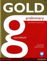 Gold Preliminary Coursebook with CD ROM