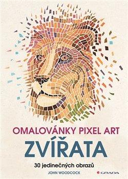 Obálka titulu Omalovánky Pixel art Zvířata