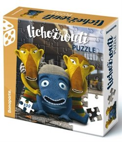 Obálka titulu Puzzle v krabici 100 Lichožrouti Hihlík a kamarádi