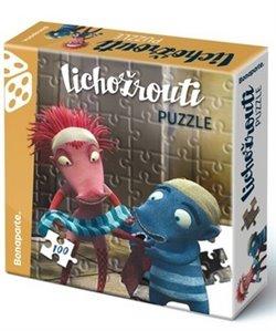 Obálka titulu Puzzle v krabici 100 Lichožrouti