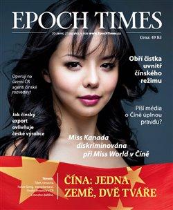 Obálka titulu Epoch Times. Čína: Jedna země, dvě tváře