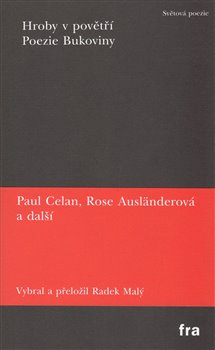 Obálka titulu Hroby v povětří / Poezie Bukoviny