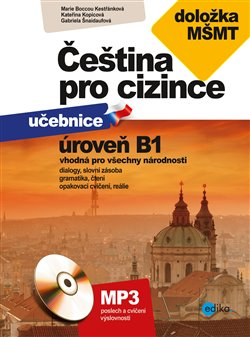 Obálka titulu Čeština pro cizince B1