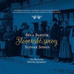 Obálka titulu Slovenské spevy / Béla Bartók