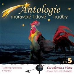Obálka titulu Antologie moravské lidové hudby 5