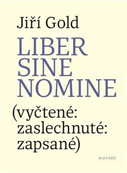 Obálka titulu Liber sine nomine