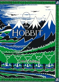 Obálka titulu The Hobbit Facsimile First Edition