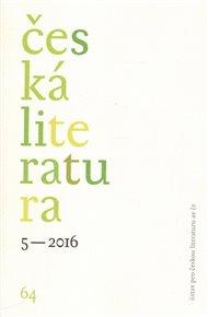 Česká literatura 5/2016