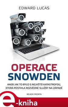 Obálka titulu Operace Snowden