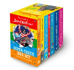 Obálka titulu The World of David Walliams: Super-Tastic Box Set
