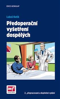 Obálka titulu Předoperační vyšetření dospělých