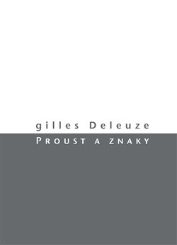 Obálka titulu Proust a znaky